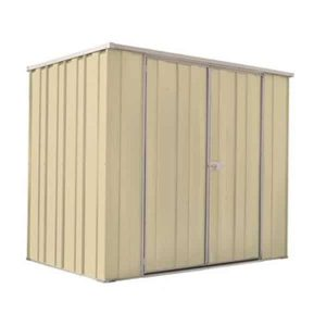 Yardsaver F64d Garden Shed | Smooth Cream